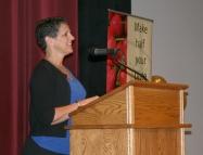 Anson Elementary nurse Sheri Edwards.