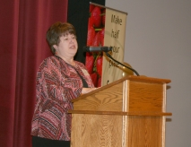 Ann Feilmann, Iowa Department of Education Bureau Chief for Nutrition and Health Services.