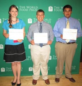 L to R: Ellen Podhajsky, Adam Willman, Isaac Medina.
