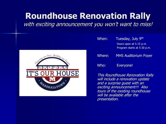 roundhouse rally invite word