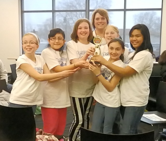 Franklin Elementary Battle of the Books team.