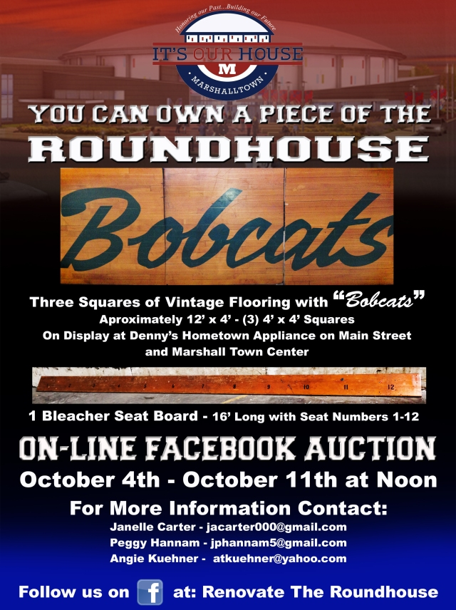 Roundhouse Auction Poster-program