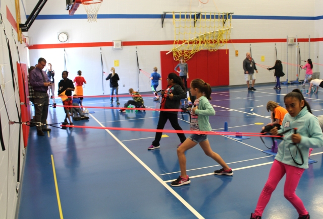 physical education in elementary schools Chester taylor elementary students are getting physical education lessons that  they can carry off the field and into the classroom.