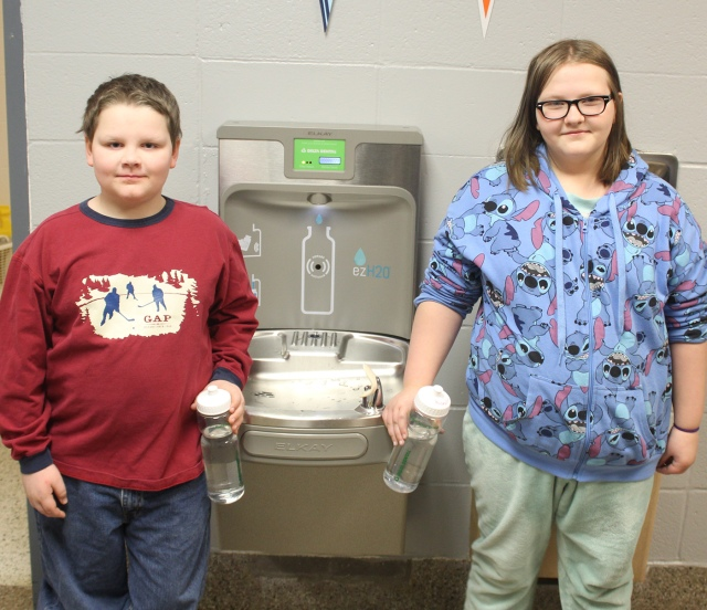 Schools receive water bottle filling stations as part of