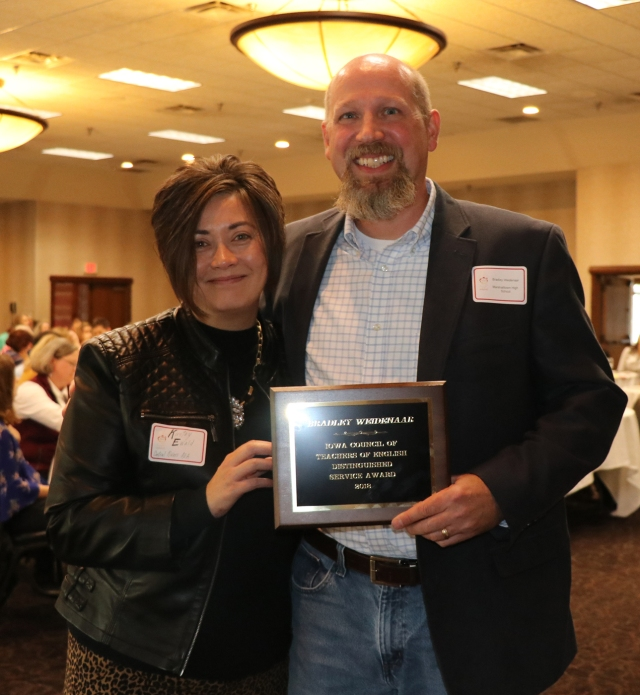 Mhs Instructional Coach Receives Distinguished Service Award From