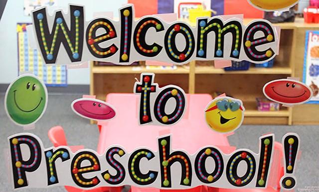 Preschool sign WEB