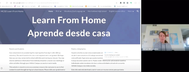 Learn from Home vidoes WEB